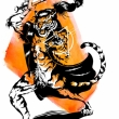 Magic-wielding Were-tiger