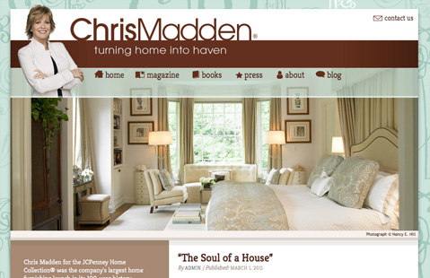 ChrisMadden.com - Home page